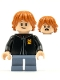 Minifig No: hp248  Name: Ron Weasley, Black Torso Gryffindor Robe