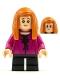 Minifig No: hp249  Name: Ginny Weasley, Magenta Shirt