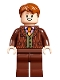 Minifig No: hp251  Name: George Weasley, Reddish Brown Suit
