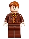 Minifig No: hp252  Name: Fred Weasley, Reddish Brown Suit