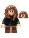 Minifig No: hp253  Name: Hermione Granger, Black Torso Gryffindor Robe