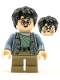 Minifig No: hp256  Name: Harry Potter, Sand Blue Jacket