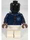 Minifig No: hp257  Name: Mannequin, Quidditch Dark Blue Robe, Ravenclaw Crest