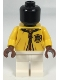 Minifig No: hp258  Name: Mannequin, Quidditch Yellow Robe, Hufflepuff Crest