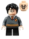 Minifig No: hp265  Name: Harry Potter, Gryffindor Sweater with Crest, Black Short Legs