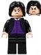 Minifig No: hp266  Name: Professor Severus Snape, Dark Purple Shirt