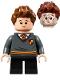 Minifig No: hp268  Name: Seamus Finnigan, Gryffindor Sweater with Crest, Black Short Legs