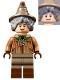 Minifig No: hp270  Name: Professor Pomona Sprout, Dirty Cloak, Dark Tan Legs with Reddish Brown Boots