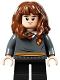 Minifig No: hp272  Name: Hermione Granger, Gryffindor Sweater with Crest, Black Short Legs