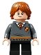 Minifig No: hp273  Name: Ron Weasley, Gryffindor Sweater with Crest, Black Short Legs