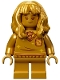 Minifig No: hp276  Name: Hermione Granger, 20th Anniversary Pearl Gold