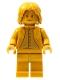 Minifig No: hp277  Name: Professor Severus Snape, 20th Anniversary Pearl Gold