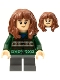 Minifig No: hp279  Name: Hermione Granger, Dark Green Sweater