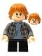 Minifig No: hp280  Name: Ron Weasley, Plaid Shirt