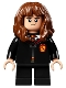 Minifig No: hp282  Name: Hermione Granger, Gryffindor Robe, Sweater, Shirt and Tie, Black Short Legs
