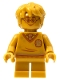 Minifig No: hp284  Name: Harry Potter, 20th Anniversary Pearl Gold