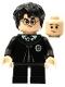 Minifig No: hp285  Name: Harry Potter, Slytherin Robe, Gregory Goyle Transformation