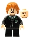 Minifig No: hp287  Name: Ron Weasley - Slytherin Robe, Vincent Crabbe Transformation