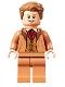 Minifig No: hp309  Name: Professor Gilderoy Lockhart, Nougat Torso and Legs