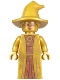 Minifig No: hp323  Name: Professor Minerva McGonagall, 20th Anniversary Pearl Gold