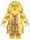 Minifig No: hp324  Name: Rebeus Hagrid, 20th Anniversary Pearl Gold