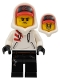 Minifig No: hs004  Name: Jack Davids (White Sweater, Open Smile / Angry)