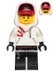 Minifig No: hs009  Name: Jack Davids (White Sweater, Lopsided Smile / Scared)