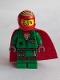 Minifig No: hs010  Name: Douglas Elton / El Fuego - Coveralls with Helmet and Cape