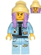 Minifig No: hs011  Name: Parker L. Jackson (Denim Jacket, Grumpy / Smile)