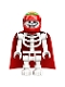 Minifig No: hs063  Name: Douglas Elton / El Fuego - Skeleton with Cape