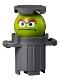 Minifig No: idea078  Name: Oscar the Grouch