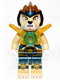 Minifig No: loc025  Name: Lennox - Pearl Gold Armor