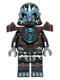 Minifig No: loc035  Name: Gorzan - Dark Brown Heavy Armor