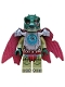 Minifig No: loc044  Name: Cragger - Heavy Armor, Cape