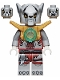 Minifig No: loc052  Name: Worriz - Pearl Gold Armor