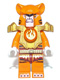 Minifig No: loc073  Name: Tormak - Orange Outfit