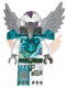 Minifig No: loc074  Name: Voom Voom - Trans-Light Blue Heavy Armor