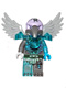 Minifig No: loc088  Name: Vornon - Trans-Light Blue Heavy Armor