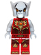 Minifig No: loc146  Name: Worriz - Fire Chi, Light Bluish Gray Hands
