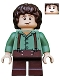 Minifig No: lor002  Name: Frodo Baggins - Sand Green Shirt