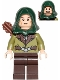 Minifig No: lor026  Name: Mirkwood Elf Guard with Hood