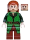 Minifig No: lor098  Name: Tauriel, Green and Reddish Brown Outfit