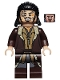 Minifig No: lor099  Name: Bard the Bowman, Angry with Mud Splotches
