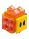 Minifig No: mar0040  Name: Lava Bubble - Scanner Code with Medium Azure Lines