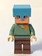 Minifig No: min019  Name: Alex - Medium Azure Helmet