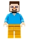 Minifig No: min074  Name: Steve - Pearl Gold Legs