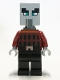 Minifig No: min079  Name: Illager - Black Legs, Neck Bracket and Tile with Clip