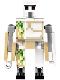 Minifig No: min093  Name: Iron Golem - Tow Ball Arm Attachments