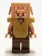 Minifig No: min097  Name: Piglin - Reddish Brown Legs