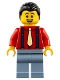 Minifig No: mk009  Name: Uncle Qiao